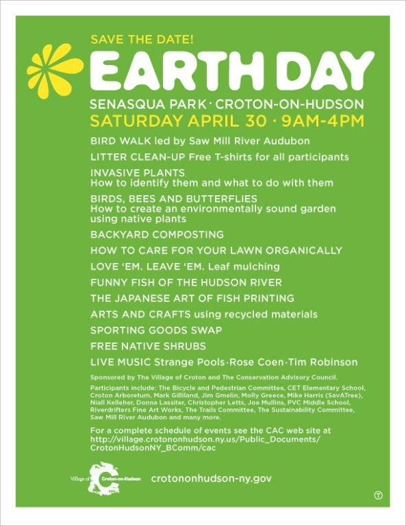 earth day posters images. Earth Day In Croton on Hudson